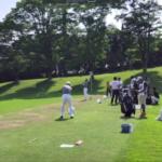 2019日本ゴルフツアー選手権森ビルカップ初日第2練習場