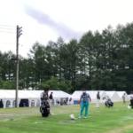 フジサンケイクラシック2020最終日 練習風景
